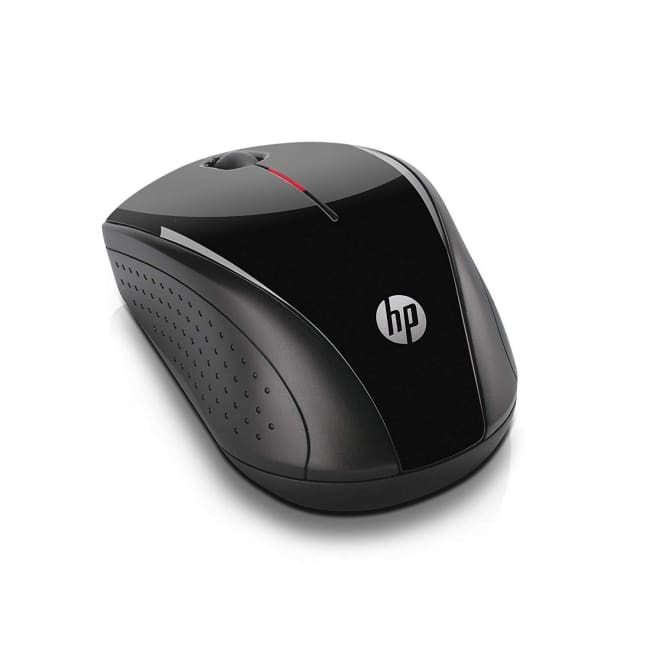HP x3000 Wireless Mouse (Black) - Wireless Mouse