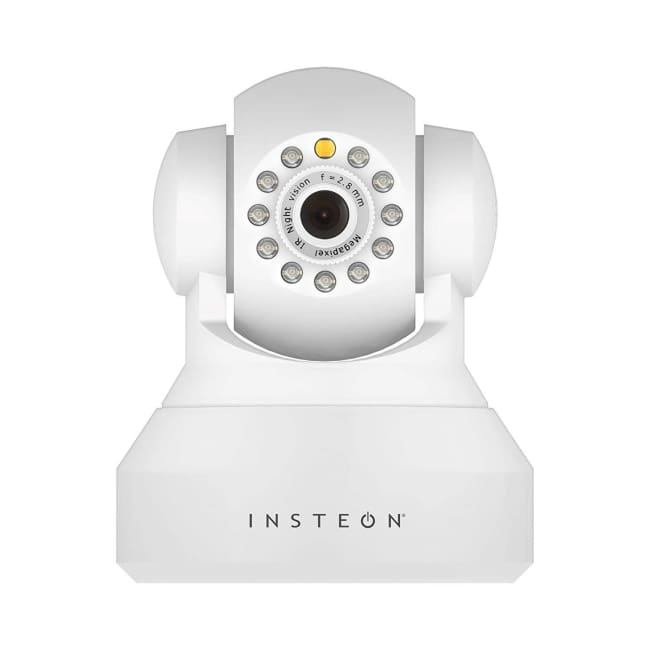 Insteon 720 IP HD Camera W/ Pan Tilt & Night Vision- White - Security System