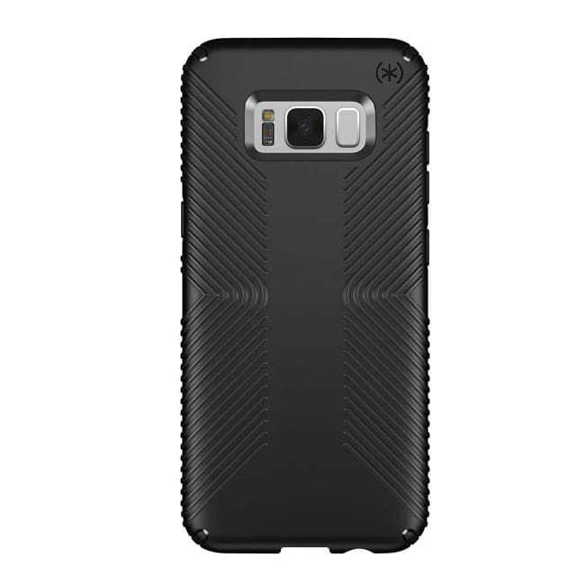Speck Presidio Grip Cell Phone Case for Samsung Galaxy S8 Plus (Black) - Phone Case