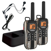 Uniden GMR4088-2CKHS Camo Two Way Radios with Charger and Headsets Grey - Two-Way Radio