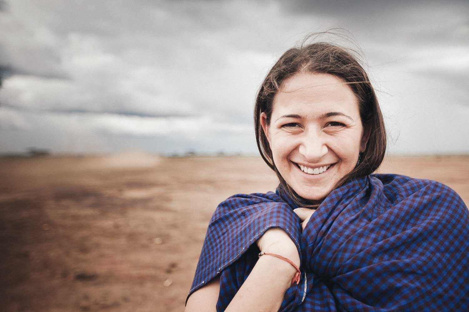 Paige Elenson of Africa Yoga Project in Nairobi