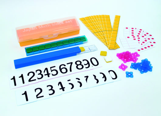 Japan Math Math Manipulatives Block Set
