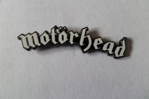 MOTORHEAD large logo PUNK METAL BADGE
