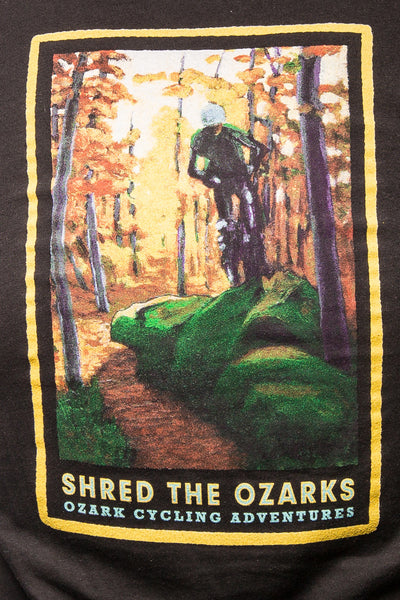 SHRED THE OZARKS T-Shirts