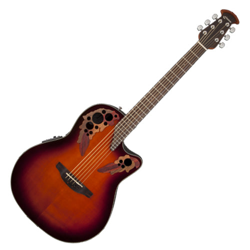 Ovation CE441 Celebrity Elite Acoustic Electric Mid Depth Bowl in Sunburst