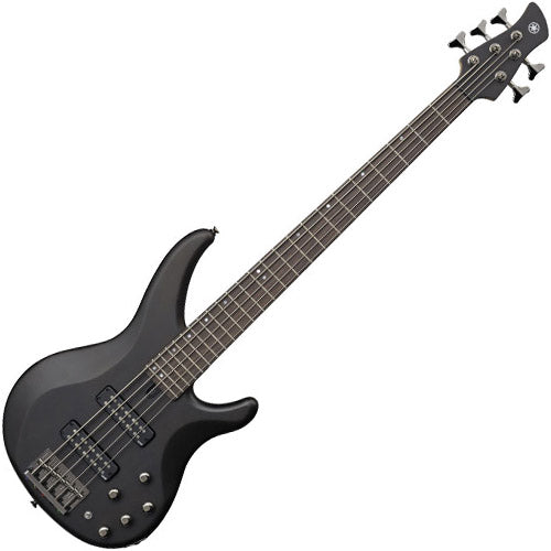 Yamaha TRBX505TBL TRBX Series 5 String Bass Guitar in Translucent Black
