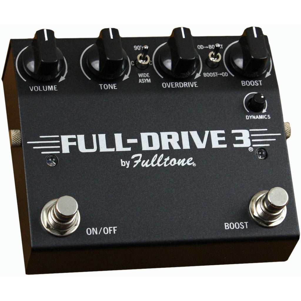 Fulltone FD3 Full Drive 3 JFET Overdrive Distortion Effects Pedal