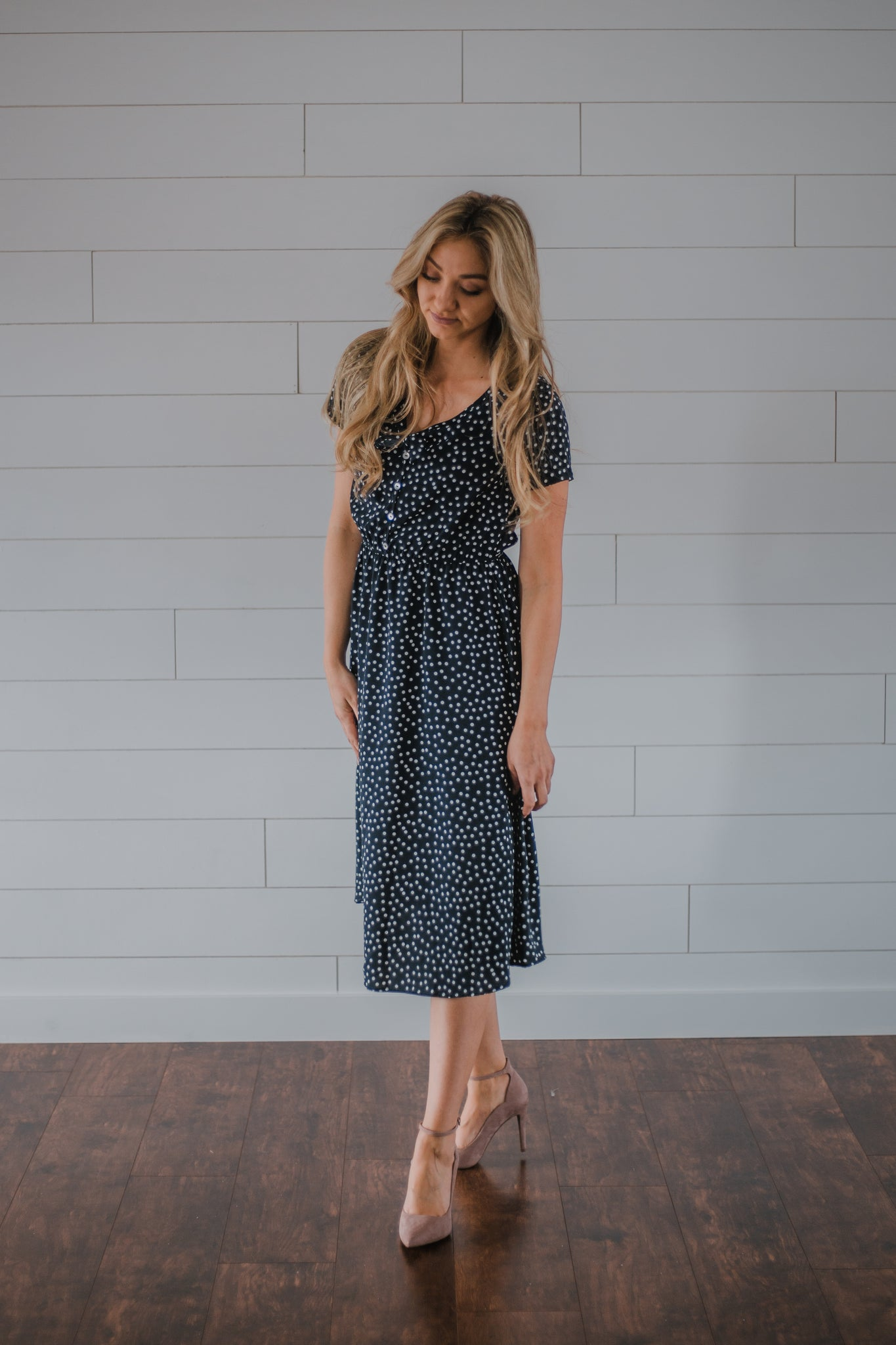 Kate Polka Dot Dress
