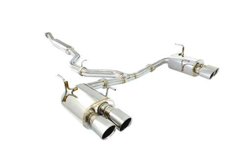 "ANTSPEC SUBARU SS 3"" CAT-BACK EXHAUST 2015+ WRX / STI"