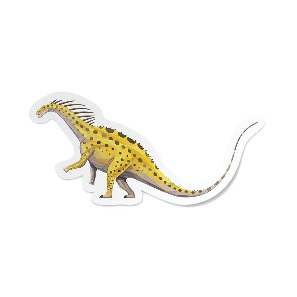 Amargasaurus Collectible Dinosaur Sticker  - Permia