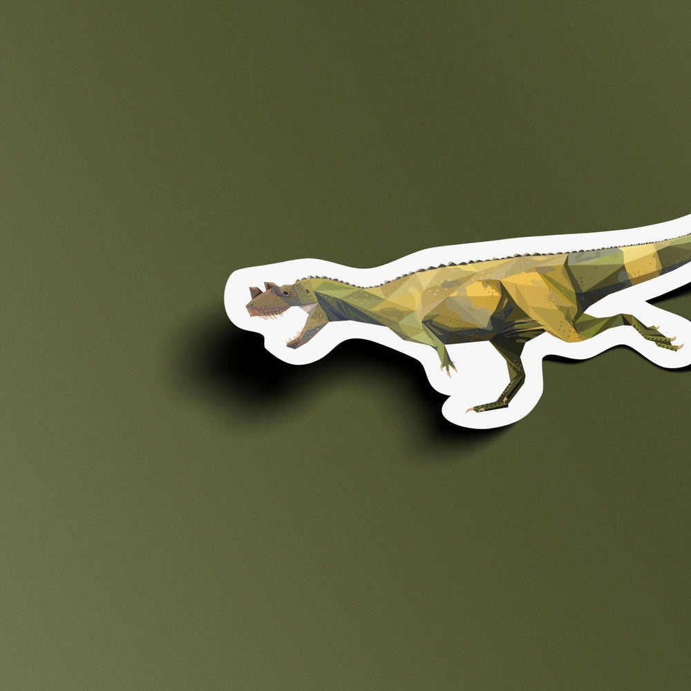 Ceratosaurus Collectible Dinosaur Sticker  - Permia