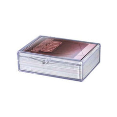 Ultra Pro Plastic Deck Box Hinged 50-Card Storage