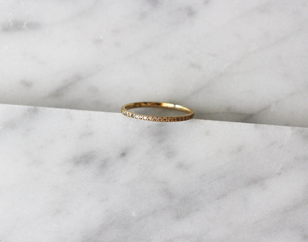 14K Diamond Étoile Ring