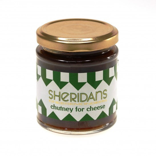 Sheridans Chutney for Cheese, Apple & Plum 220g Jar