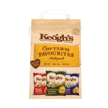 Keogh's multi-pack (6x30g)