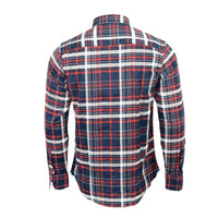 Mens Shirt Brave Soul Flannel Brushed Cotton Long Sleeve Casual Top Check Shirt - Kandor Clothing Company Ltd UK