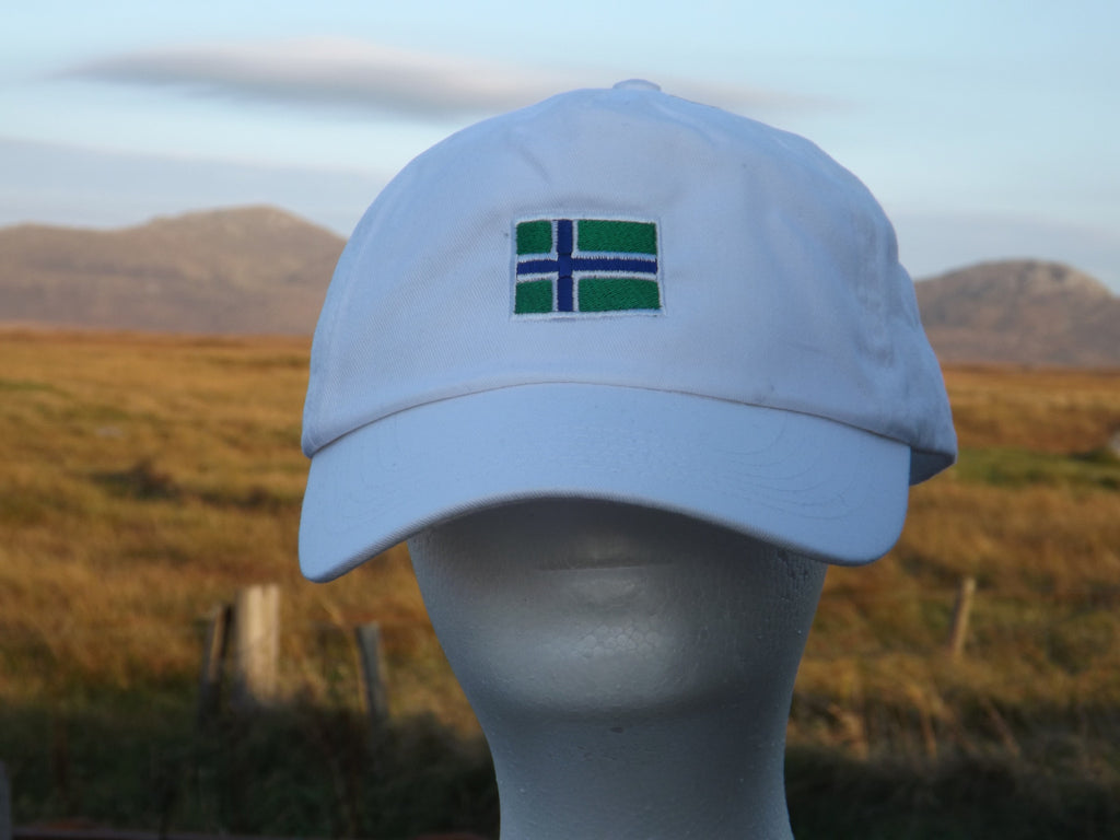 South Uist Baseball Cap in White