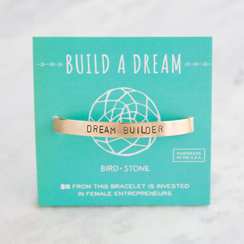 'Dream Builder' Cuff