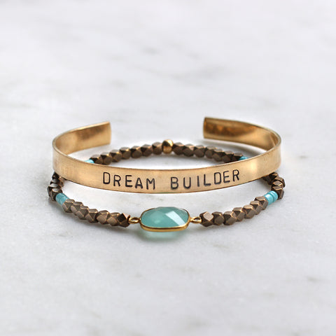 'Dream Builder' + Cleopatra Bracelet Set