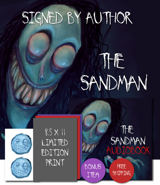 The Sandman Hardcover Signed by Author, Digital Edition, Audiobook, Special Edition Art, And More