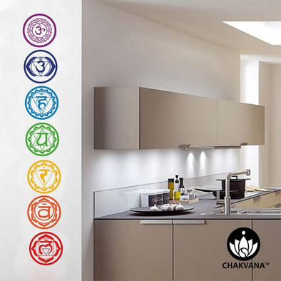 Wall Decal Stickers 7 Chakras