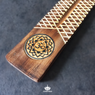 Wood Incense Burner | Om-Lotus