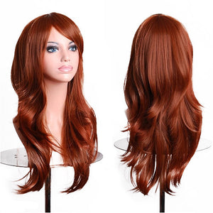 Heat Resistant Female Curly Wig-10 Colors - Goamiroo Store