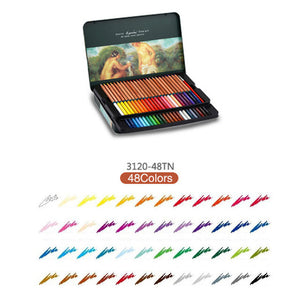 Marco 24/36/48/72Pcs Colored Pencils Profissional Watercolor Pencils Painting - Goamiroo Store