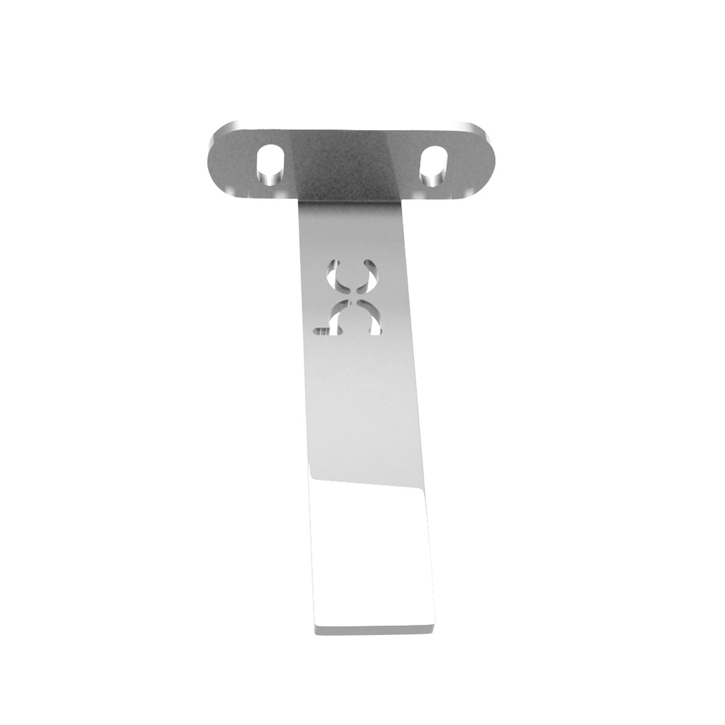 Weld-On Upper Flat Fenders Bracket Raw Steel