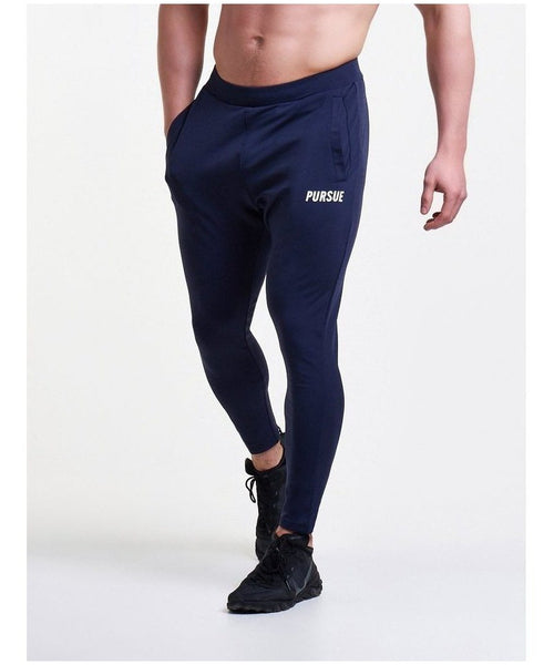 Pursue Fitness Essential Training Joggers Navy-Pursue Fitness-Gym Wear
