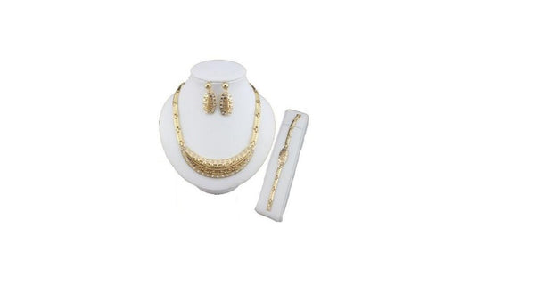 Gold Necklace Set (Lightweight)