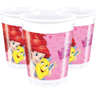 Disney Princess Storybook Birthday Party Paper Cup-Pack of 8