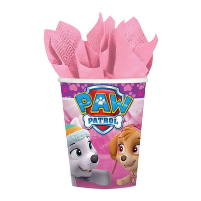 Paw Patrol Pink Kids Party Paper Cup- Pack of 8