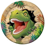 Dino Blast Dinosaur Party Paper Plate 9 Inch (23cm) - Pack of 8