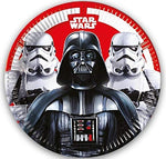 Stars Wars Last Jedi Villians Kids Party Paper Plate- Pack of 8