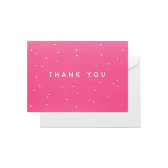 ELM PAPER-Thank you confetti card