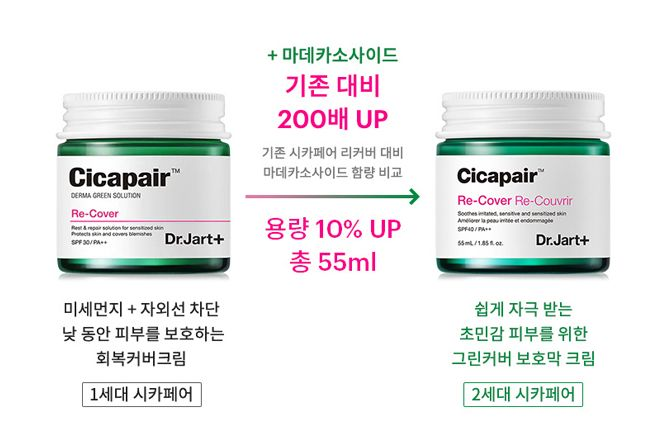 DR JART+ Cicapair Re-cover Re-Couvrir Cream SPF30 PA++