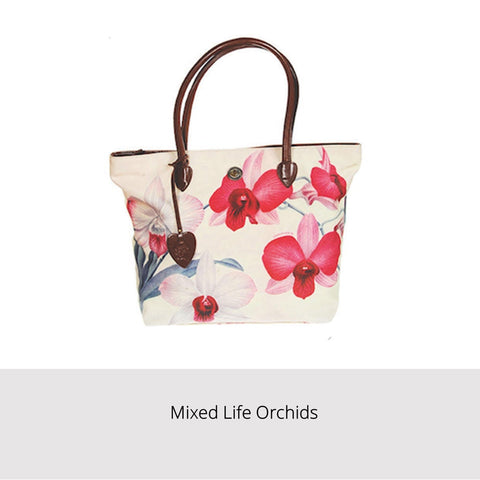 Singapore Orchid Bags - Mixed Life Orchids