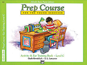 Alfred's Basic Piano Prep Course: Activity & Ear Training Book C 00-3126   upc 038081023205