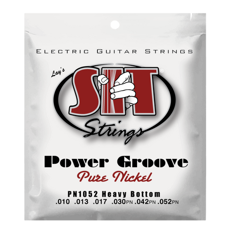 SIT PN1052 HEAVY BOTTOM POWER GROOVE PURE NICKEL ELECTRIC