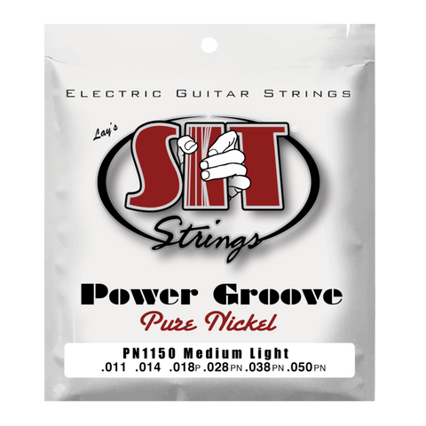 SIT PN1150 MEDIUM-LIGHT POWER GROOVE PURE NICKEL ELECTRIC