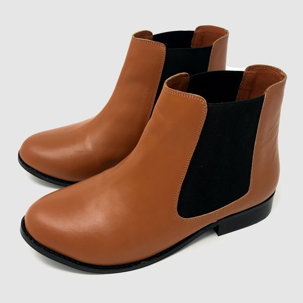 Chelsea Boots in Saddle - Taramay Design
