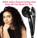 Krea Easy Curler Pro With LCD Display And Intelligent Spooling Automation