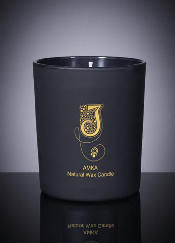 Amka Natural Wax Candle