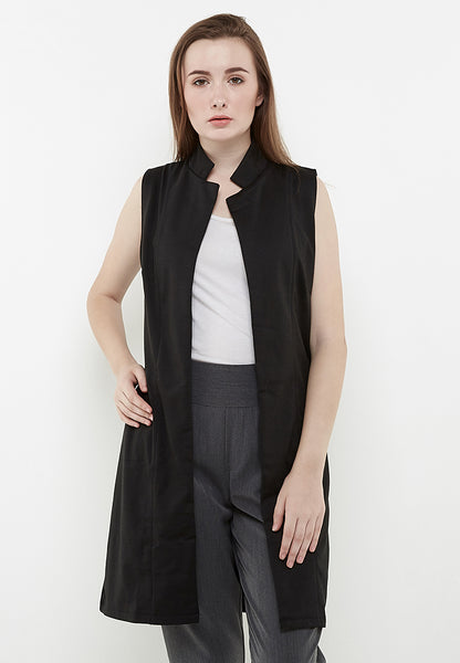 Sleeveless Vest - Black