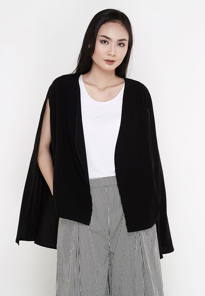 Cape Blazer - Black