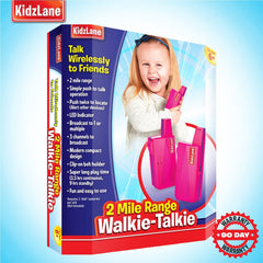 Kids Walkie Talkies Pink - Kidzlane