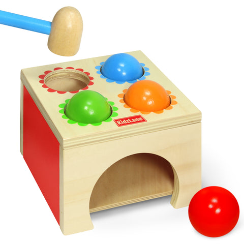 Hammer & Ball Wooden Play Set