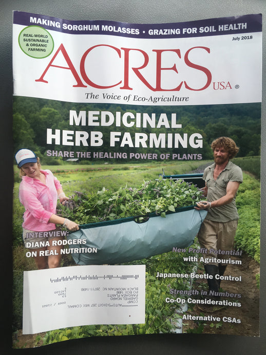 Herb Farmer Training Course (6 week) Spring 2019