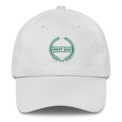 Caps - Army Siao Cap White